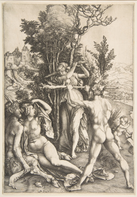 Albrecht Durer. Hercules at the crossroads