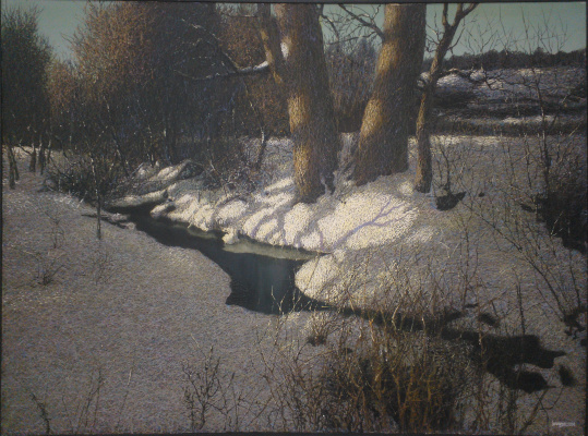 Ivan Stepanovich Marchuk. Spring is on the way