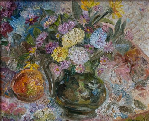 Agnessa Morkovina. Autumn bouquet