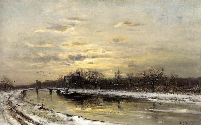 Апол Лодевейк. Пейзаж