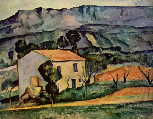 Paul Cezanne. House in Provence