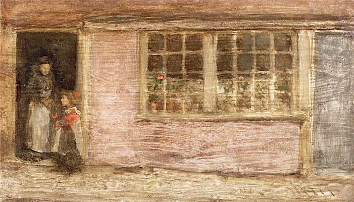 James Abbot McNeill Whistler. Shop window