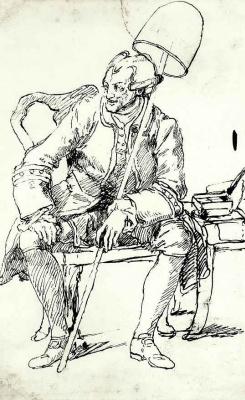 William Hogarth. Portrait Of John Wilkes