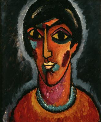 Byzantine female (Bright lips)