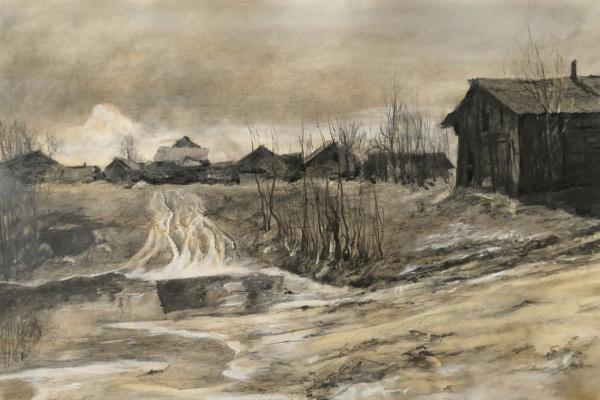 Igor Igorevich Krieger. Village in Karelia