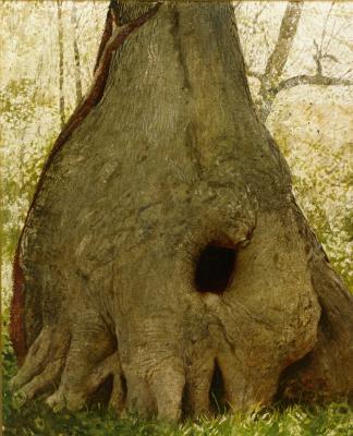 Jamie Wyeth. Tree near the water