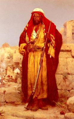 Адольф Сил. Нубийская гвардия