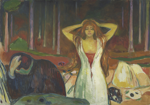 Edvard Munch. Ash