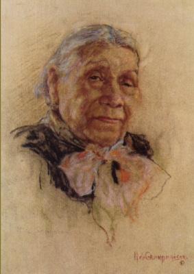 Николас де Гранмезон. Индейский портрет 46