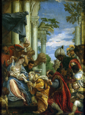 Paolo Veronese. Adoration of the Magi