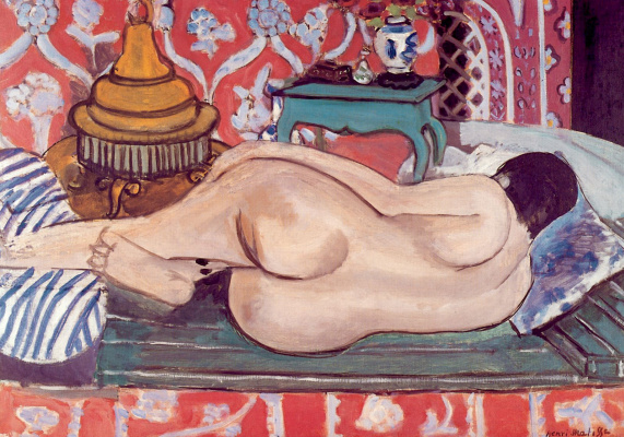 Henri Matisse. Sleeping nude from the back