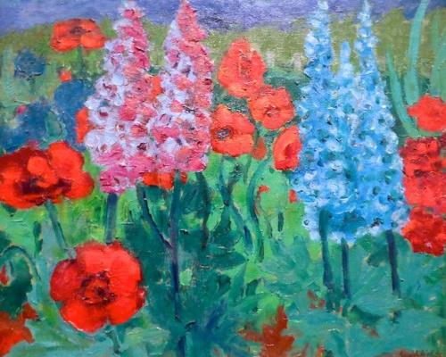 Эмиль Нольде. Цветочный сад