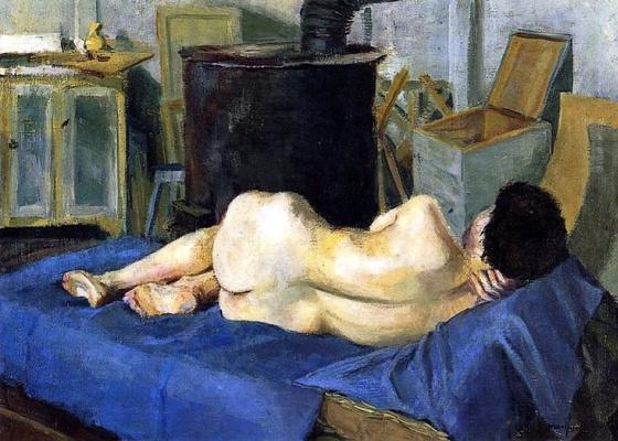 Albert Marquet. Nude in the Studio