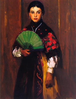 Robert Henry. A peasant girl of Segovia