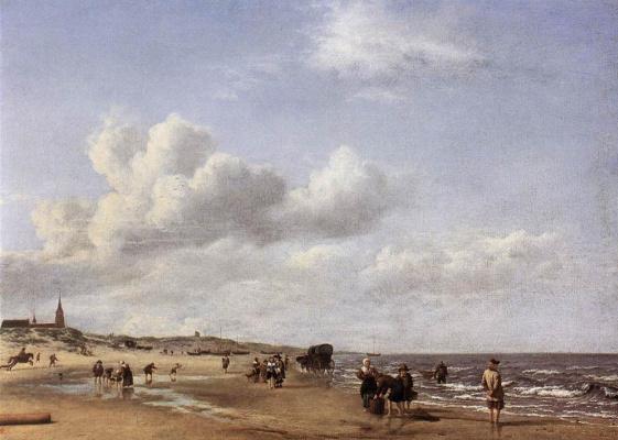 Адриан ван де Вельде. Голубое небо
