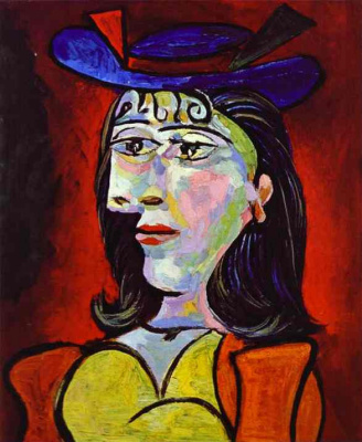 Pablo Picasso. Portrait of a woman (Dora Maar)
