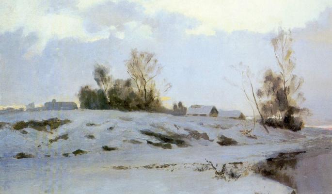 Ivan Ivanovich Endogurov. The beginning of spring
