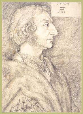 Albrecht Durer. Portrait Of Ulrich Starck