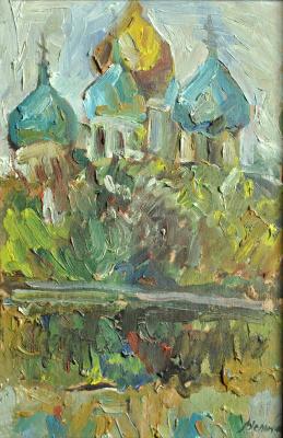 Дмитрий Александрович Мельников. Новодевичий монастырь