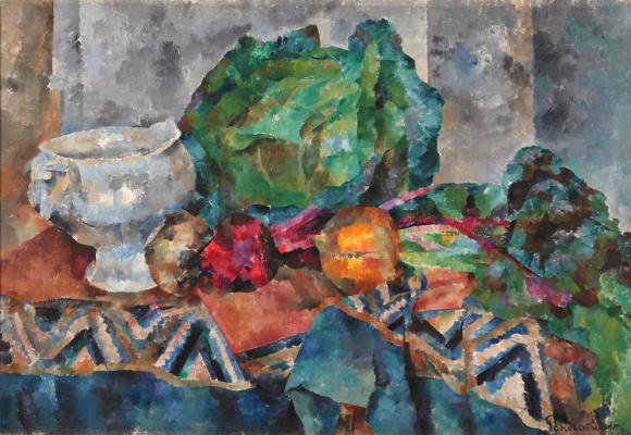 Vasily Vasilievich Rozhdestvensky. Cabbage