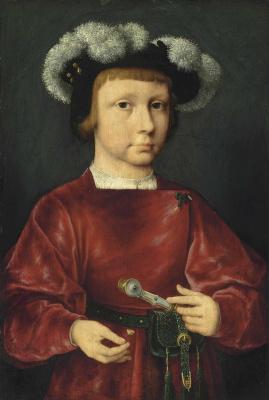 Йос ван Клеве. Портрет молодого дворянина.