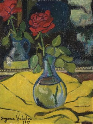 Suzanne Valadon. Роза перед зеркалом. 1919