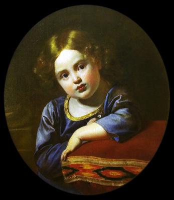 Orest Adamovich Kiprensky. Portrait of Prince E. G. Gagarin as a Child