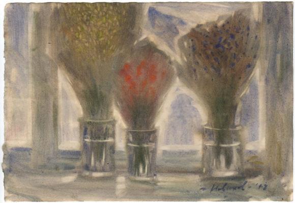 Novikov Anatolyevich Vladimir. Three bouquets