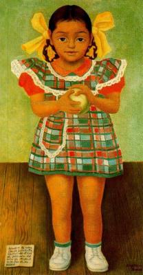 Diego Maria Rivera. Portrait Amenity Carillo Flores