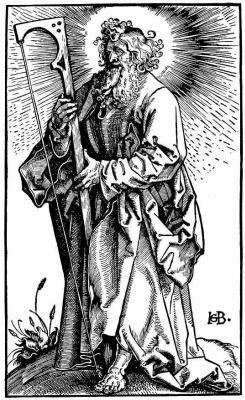 Hans Baldung. Saint James The Younger
