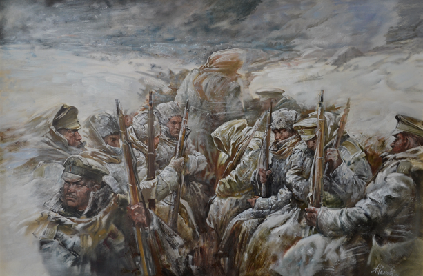 """Andrey Romasyukov. Blizzard. Series """"From the Great War to the Great Troubles"""""""