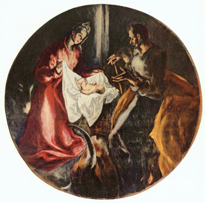 Domenico Theotokopoulos (El Greco). The Birth Of Christ