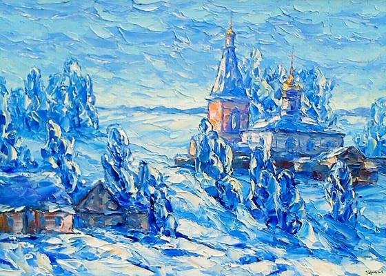 Алексей Иванович Гладких. Зимнее состояние