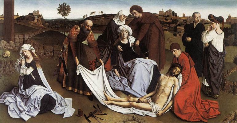 Petrus Christus. Mourning