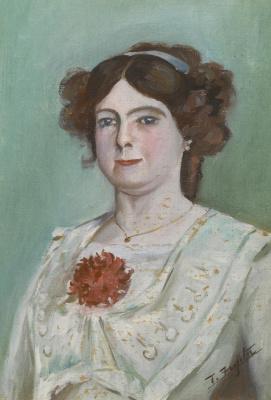 Цугухару Фудзита ( Леонар Фужита ). Портрет Елизаветы