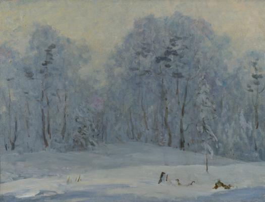 Рудольф Анатольевич Яблоков. Winter