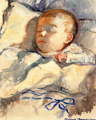 Миро Маиноу. Спящий ребенок
