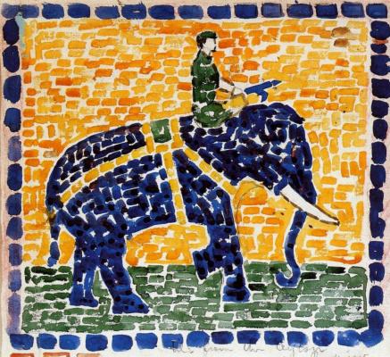 Maurice Braziel Prendergast. Elephant
