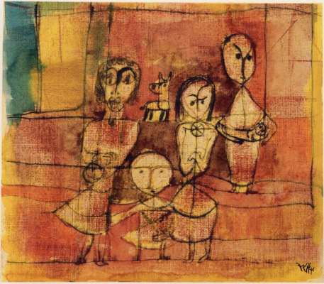 Paul Klee. Children and dog