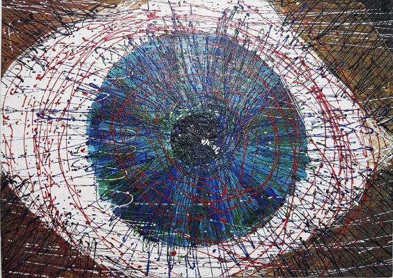 Александра Кнабенгоф. Глаз Давида David's eye
