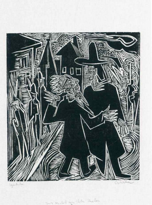 Ernst Ludwig Kirchner. David and Absalom