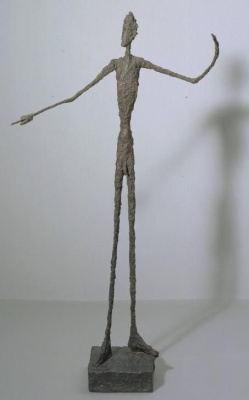 Alberto Giacometti. Pointing man