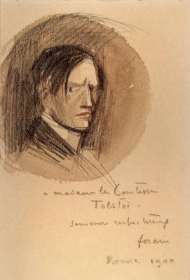 Jean-Louis Foren. Self-portrait