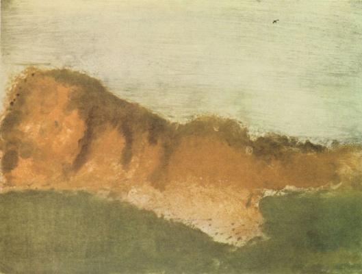 Эдгар Дега. Мыс Орню близ Сен-Валери-сюр-Сомм