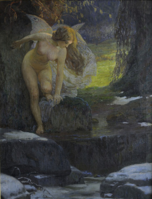 Joseph (Josef) Mandl. Allegory of spring