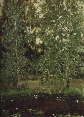 Victor Mikhailovich Vasnetsov. Pond in Okhtyrka