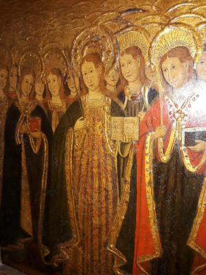 Saint Orsola and 11 thousand virgins