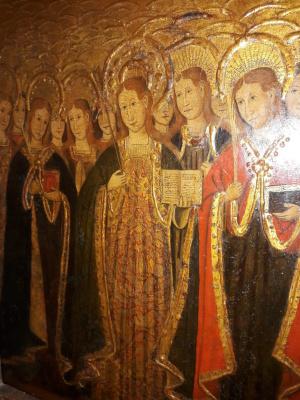 Saint Orsola and 11 thousand virgins