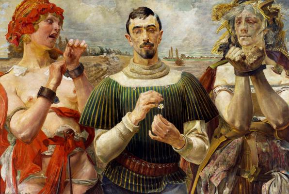 Jacek Malchevsky. Hamlet polski. Portret Aleksandra Wielopolskiego