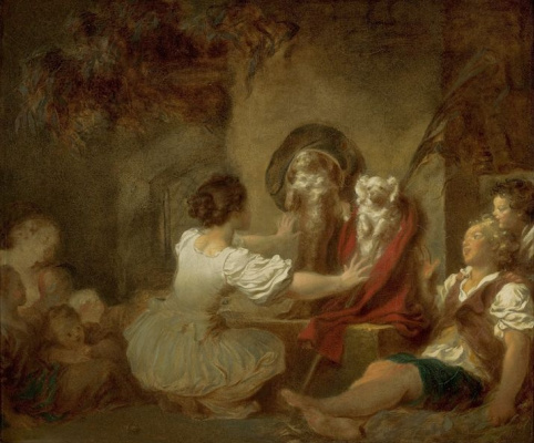 Jean Honore Fragonard. A lesson for all